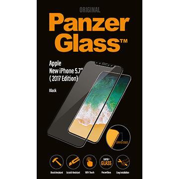 【iPhone XS】PanzerGlass 3D耐衝擊玻璃保貼 - 黑色 2623