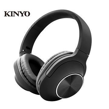 KINYO 藍牙頭戴立體聲耳麥 BTE-3880
