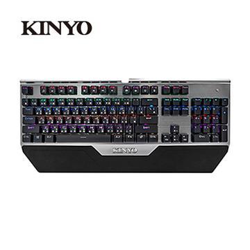 (福利品)KINYO GKB-2200 USB光軸防水機械鍵盤