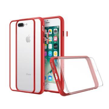犀牛盾 iPhone 8+ Mod NX防摔手機殼-紅