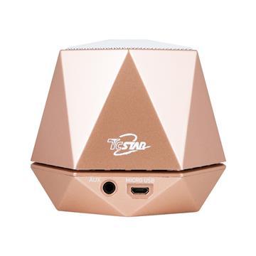 【福利品】T.C.STAR 雙份甜蜜串聯式無線藍牙揚聲器