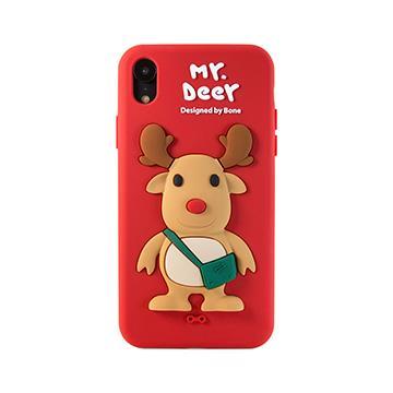 【iPhone XR】Bone 公仔保護套 - 麋鹿先生
