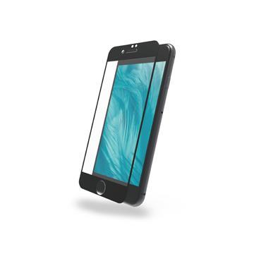 DIKE iPhone 7/8滿版鋼化玻璃保護貼-黑