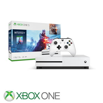【限量網銷獨賣組】-「同捆組」【1TB】XBOX ONE S 戰地風雲V Battlefield V 主機