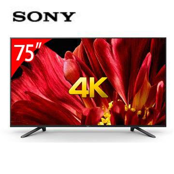 SONY 75型4K智慧連網電視
