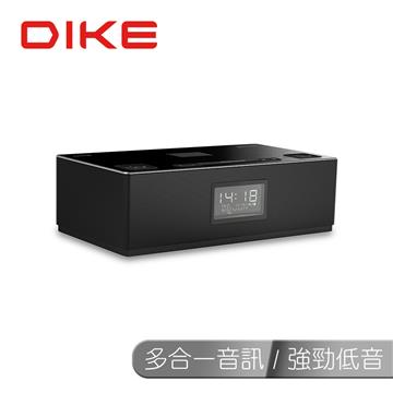 [福利品]DIKE 經典鬧鐘藍牙音響