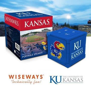 WISEWAYS 美國大學藍牙喇叭 KANSAS