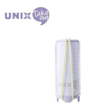 UNIX USB插電加熱32mm髮捲球 PW-5321TW 紫