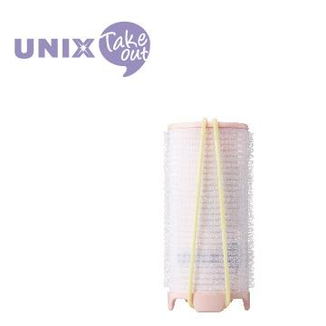 UNIX USB插電加熱38mm髮捲球 PW-5382TW 粉