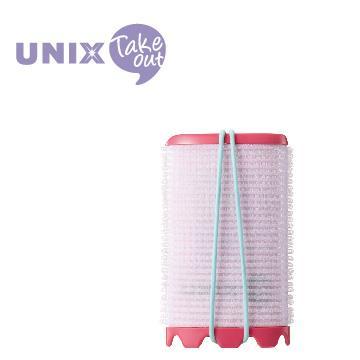 UNIX USB插電加熱51mm髮捲球 PW-5511TW 紅
