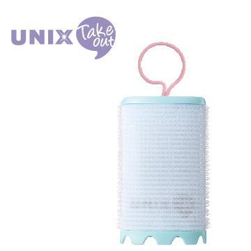 UNIX USB插電加熱51mm髮捲球 PW-5512TW 綠