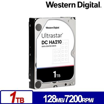 WD 3.5吋 1TB Ultrastar DC HA210企業硬碟