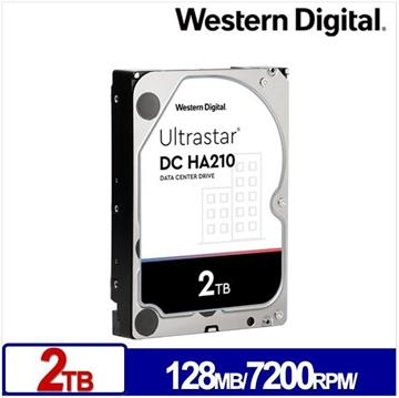 WD 3.5吋 2TB Ultrastar DC HA210企業硬碟