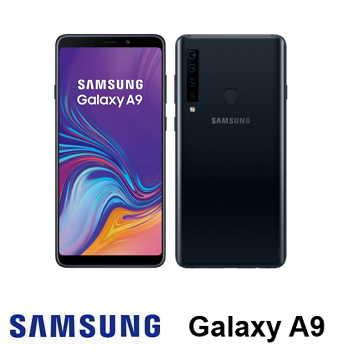【6G / 128G】SAMSUNG Galaxy A9 6.3吋4鏡頭智慧型手機 - 黑色