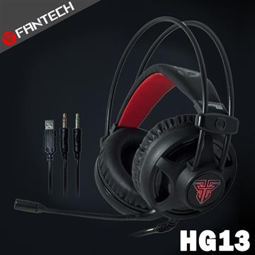 FANTECH HG13 LED燈效立體聲電競耳機
