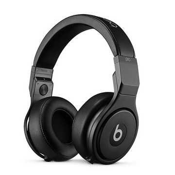 Beats Pro 耳罩式耳機-黑
