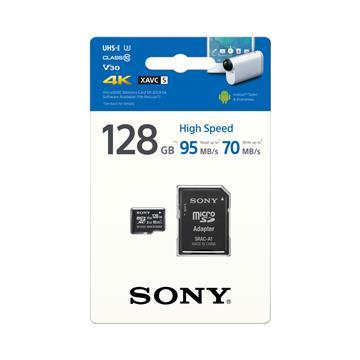 SONY MicroSD U3 V30 R95 128G記憶卡