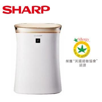 【福利品】SHARP 12坪自動除菌離子空氣清淨機 FU-G50T-W