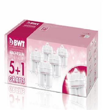 BWT德國倍世 Mg2+鎂離子長效濾芯(5+1入) Cartridges-(5+1)Gratis