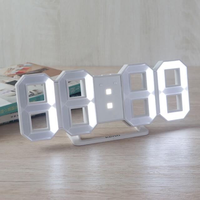 KINYO LED立體數字鐘