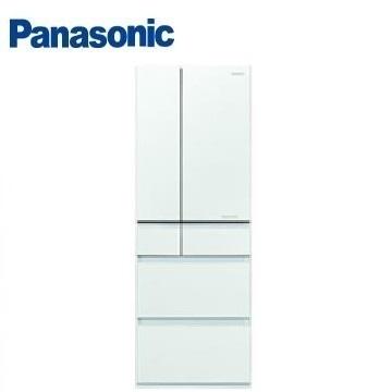 【福利品】Panasonic 500公升六門變頻玻璃冰箱