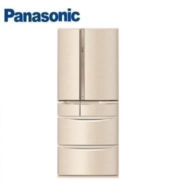 Panasonic 601公升旗艦ECONAVI六門變頻冰箱 NR-F604VT-N1(香檳金)