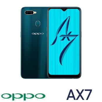 【4G / 64G】OPPO AX7 6.3吋智慧型手機 - 琉璃藍