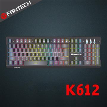 FANTECH K612音效感應RGB電競鍵盤 K612
