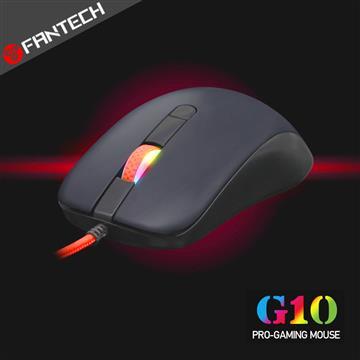 FANTECH G10輕量級高速電競遊戲滑鼠-黑