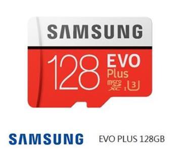 贈品-SAMSUNG EVO Plus MicroSD 128G記憶卡