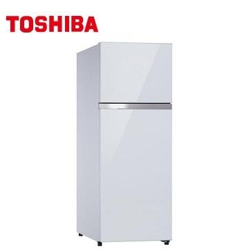 TOSHIBA 409公升雙門變頻冰箱