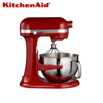KitchenAid桌上型攪拌機升降型-經典紅