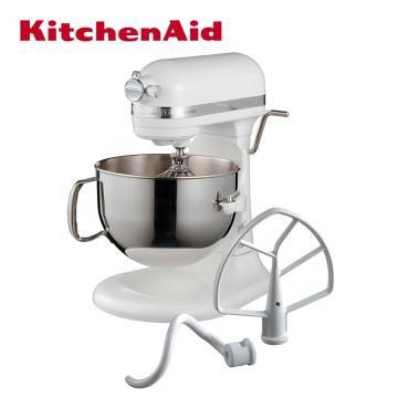 KitchenAid桌上型攪拌機升降型-牛奶白