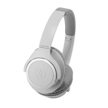 鐵三角 SR30BT耳罩式藍牙耳機-灰
