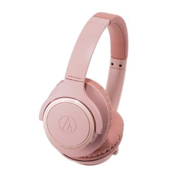 鐵三角 SR30BT 耳罩式藍牙耳機-粉