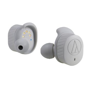 【福利品】鐵三角 SPORT7TW 真無線運動藍牙耳機-灰