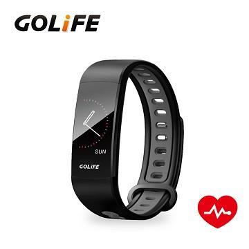 GOLiFE 智慧觸控心率血壓手環 - 灰色