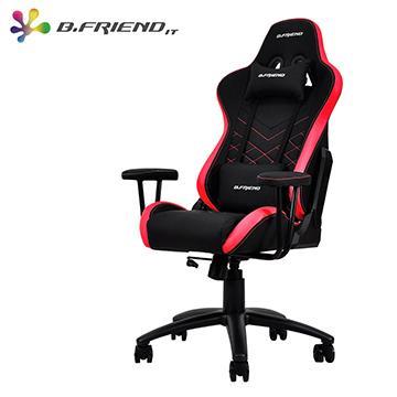 B.Friend KGC01雙色電競椅(S)-黑紅