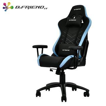 B.Friend KGC01雙色電競椅(S)-黑藍