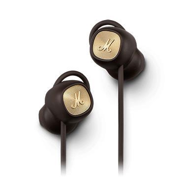 Marshall Minor II BT藍牙耳塞式耳機-棕