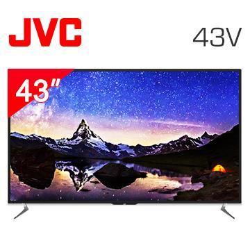 JVC 43型4K HDR連網薄型LED液晶顯示器 43V