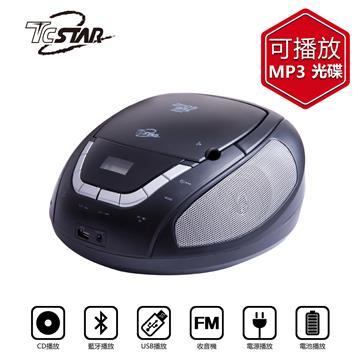 T.C.STAR藍牙/USB手提CD音響