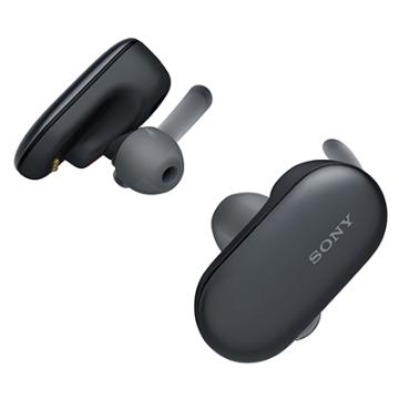 SONY WF-SP900 真無線藍牙耳機-黑