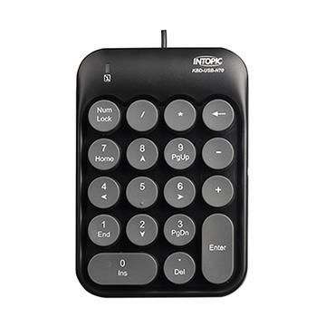 INTOPIC 打字機數字鍵盤