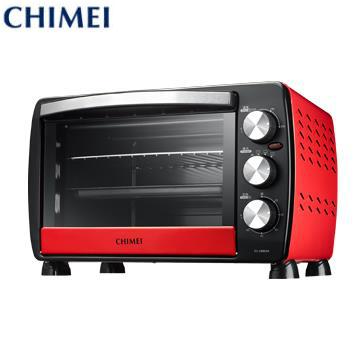 CHIMEI 18L家用電烤箱 紅