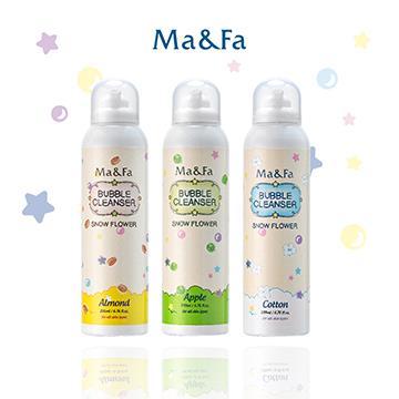 Ma&Fa魔法沐浴泡(三入)-粉黃/粉綠/白色泡泡 MAFA-YE