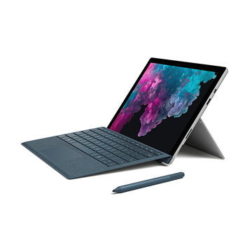 【滑鼠同捆組】微軟Surface Pro 6 i5-8G-128G(白金)