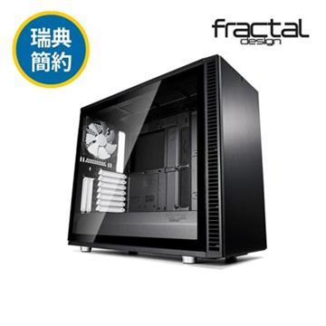 瑞典Fractal Design S2 TG電腦機殼-黑 FDDEF-S2-BK-TGL