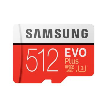 SAMSUNG EVO Plus MicroSDHC U3 512G記憶卡