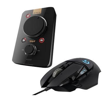 【同捆組】羅技ASTRO A40混音擴大器-幻影黑+羅技G502 Hero電競滑鼠 939-001752